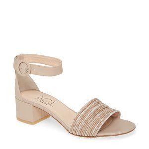 AGL Ankle Strap Sandal in VERBITO NUDE